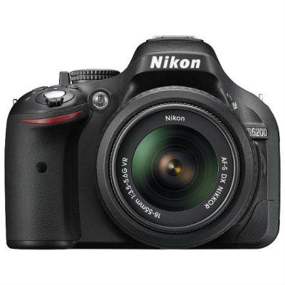 Зеркальный фотоаппарат Nikon D5200 Kit 18-55 vrII Black [VBA350K007]