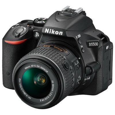 ���������� ����������� Nikon D5500 Kit 18-55 VRII (black) [VBA440K001]