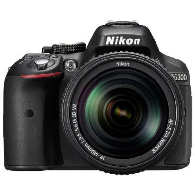 Зеркальный фотоаппарат Nikon D5300 Kit 18-105 VR Black [VBA370KV02]