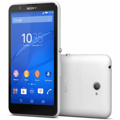 Смартфон Sony Xperia E4 E2105White 1292-4557