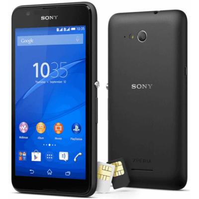Смартфон Sony Xperia E4g Dual LTE E2033Black 1293-8987
