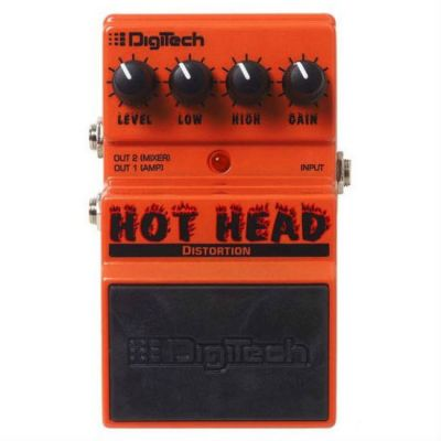 Педаль эффектов DigiTech HOT HEAD DISTORTION