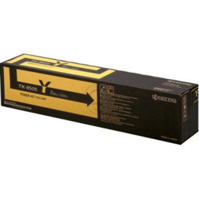 Тонер-картридж Kyocera TK-8505Y Yellow/Желтый (1T02LCANL0)