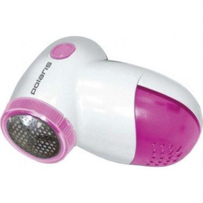 Polaris Машинка для удаления катышков PLR 2024 (белый/розовый)