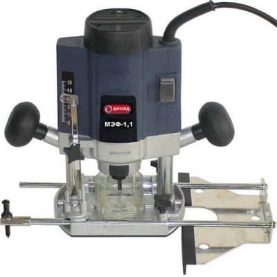 Фрезерная машина Диолд МЭФ-1.1, 1.1 кВт, 0-31000 о/м, цанга 6,8 мм, 2.9 кг 10101010