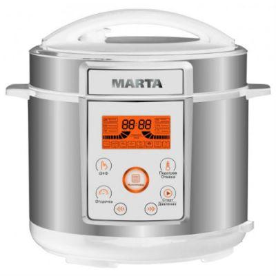 Мультиварка Marta MT-1968 (белый/серебристый)
