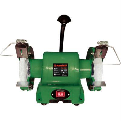 Станок Hammer точило TSL375A+, 375 Вт, 150*20*12.7 мм, 2950 об/мин, с подсветкой, 38318h