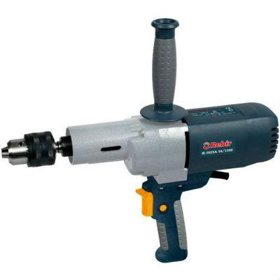 Дрель Rebir IE-1023А-16/1300 +поворотная ручка, 1.3 кВт, 3-23 мм, конус Морзе, 500 об/мин, 3.9 кг, IE-1023А-16/1300+ручка