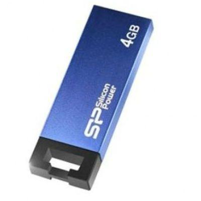 Флешка Silicon Power 4GB Touch 835 (синий) SP004GBUF2835V1B