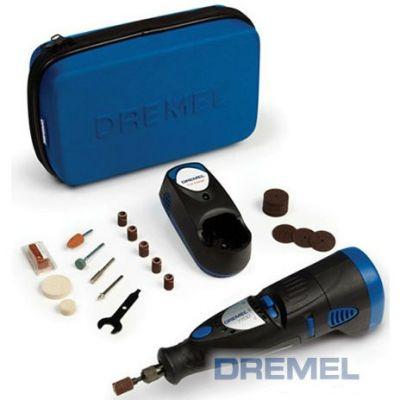 Dremel Акк. гравер 7700-30 JC, 7.2 В, 0.7 Ач, NiCd, 10000-20000 об/мин, 0.28 кг, 30 насадок, сумка, F0137700JC