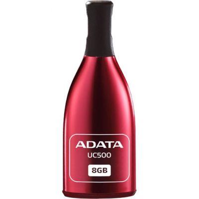 Флешка ADATA 8GB DashDrive UC500 (красный) AUC500-8G-RRD