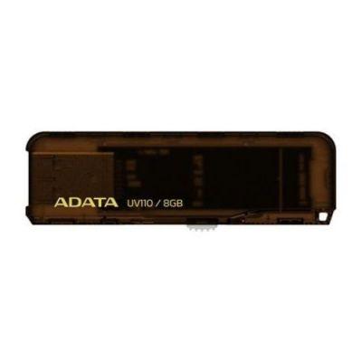 Флешка ADATA 8GB UV110 (коричневый) AUV110-8G-RBR
