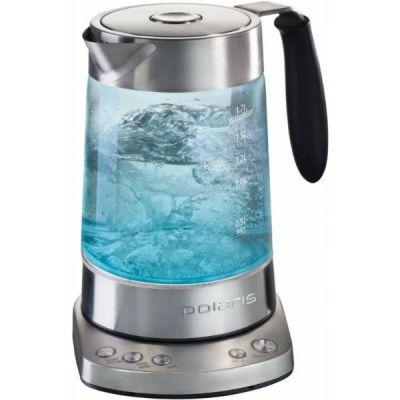 Электрический чайник Polaris PWK 1792CGL Wi-Fi (серебристый)