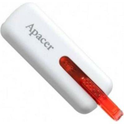Флешка Apacer 8GB Handy Steno AH326 (белый) AP8GAH326W-1