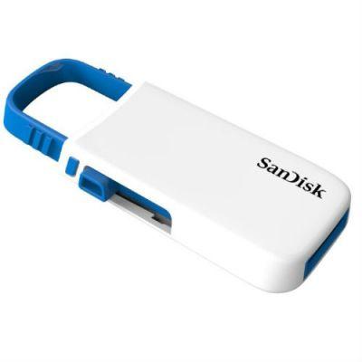 Флешка SanDisk 8GB CZ59 Cruzer U (White/Blue) SDCZ59-008G-B35WB