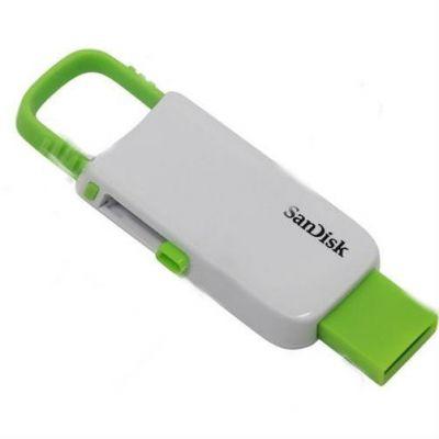 Флешка SanDisk 8GB CZ59 Cruzer U (White/Green) SDCZ59-008G-B35WG