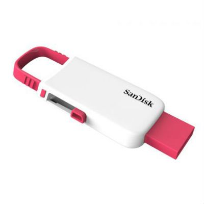 Флешка SanDisk 8GB CZ59 Cruzer U (White/Pink) SDCZ59-008G-B35WP