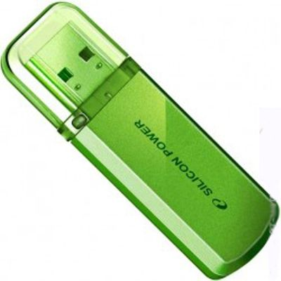 Флешка Silicon Power 8Gb Helios 101 (зеленый) SP008GBUF2101V1N