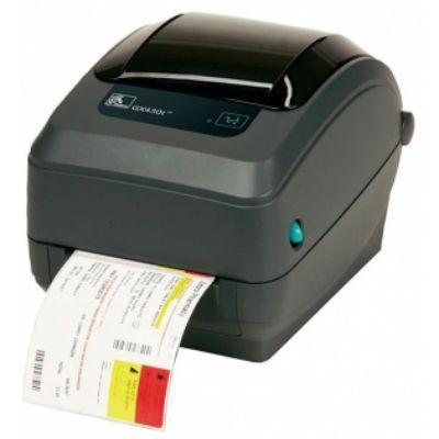 Принтер Zebra TT Printer GX430t, 300dpi, Euro and UK cord, EPL2, ZPL II, USB, Serial, Centronics Parallel GX43-102520-000