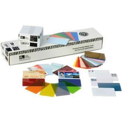 Zebra Пластиковые карточки STK-CARD,PVC,10MIL,BOX OF 500 104523-210