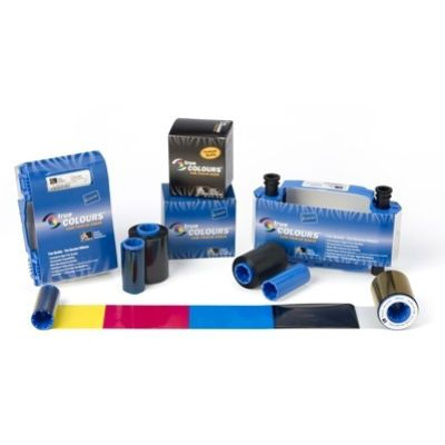 Zebra ����� Load-N-Go colour ribbon for ZXP Series 1 YMCKO 800011-140