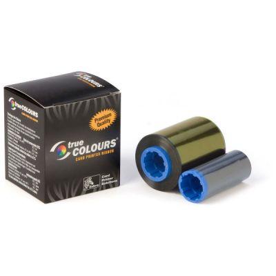 Лента Zebra iSeries black monochrome ribbon cartridge for P1xx printers, 1000 images 800017-201