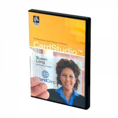 Zebra Графическая программа S/W,ZEBRA CARDSTUDIO,STANDARD P1031774-001