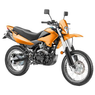 Мотоцикл Stels 250 Enduro (оранжевый)