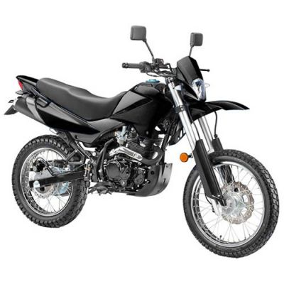 Мотоцикл Stels 250 Enduro (черный)