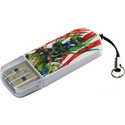 Флешка Verbatim 8GB Mini Tattoo Edition (дракон) 49884