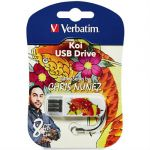 ������ Verbatim 8GB Mini Tattoo Edition (����) 49882