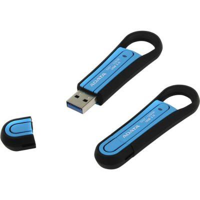Флешка ADATA 128GB A-DATA S107 (резиновый, синий) AS107-128G-RBL