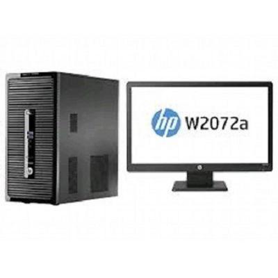"""Комплект HP ProDesk 400 G2 MT + Монитор W2072a 20"""" 1600x900 L9T43EA"""