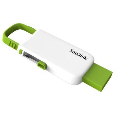 ������ SanDisk 64GB CZ59 Cruzer U (White/Green) SDCZ59-064G-B35WG