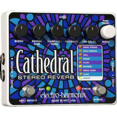 Педаль эффектов Electro-Harmonix CATHEDRAL