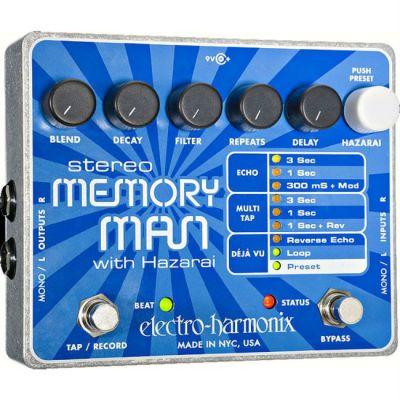 Педаль эффектов Electro-Harmonix STEREO MEMORY MAN