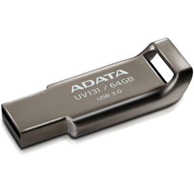 Флешка ADATA 64GB UV131 (металл) AUV131-64G-RGY