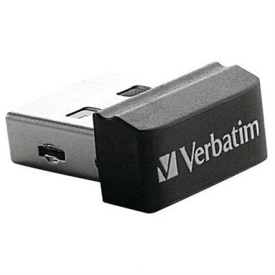 Флешка Verbatim 32GB Verbatim Nano (черный) 98130