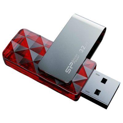 Флешка Silicon Power 32GB Ultima U30 (красный) SP032GBUF2U30V1R