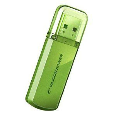 Флешка Silicon Power 32Gb Helios 101 (зеленый) SP032GBUF2101V1N
