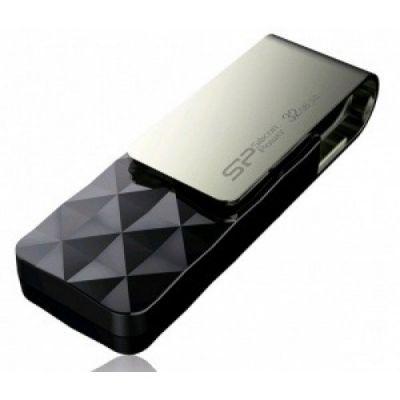 Флешка Silicon Power 32Gb Blaze B30 (черный) SP032GBUF3B30V1K