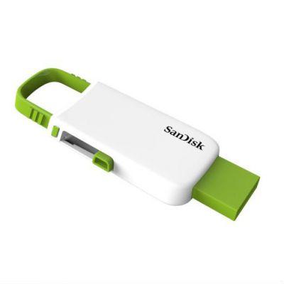 Флешка SanDisk 32GB CZ59 Cruzer U, White/Green SDCZ59-032G-B35WG