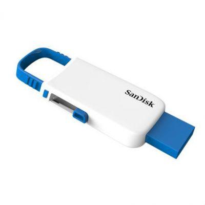 Флешка SanDisk 32GB CZ59 Cruzer U, White/Blue SDCZ59-032G-B35WB