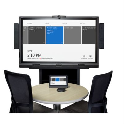SMART Technologies Интерактивный комплект SMART Room System-М включает в себя: LCD-панель + настенное крепление + колонки SRS-Lync-М