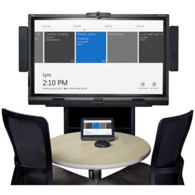 Комплект SMART Technologies интерактивный SMART Room System-S включает в себя: LCD-панель + настенное крепление + колонки + микрофон SRS-Lync-S