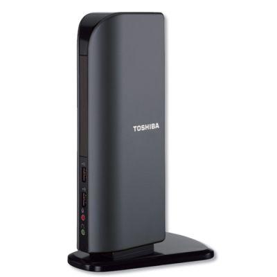 Док-станция Toshiba универсальная Dynadock - USB Port Replicator with DVI (UXGA) PA3542E-2PRP