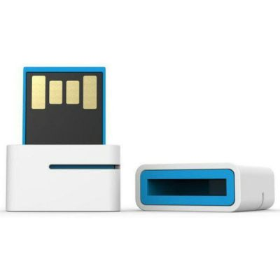 Флешка Leef 32GB SPARK (бело/синий) LFSPK-032WBR