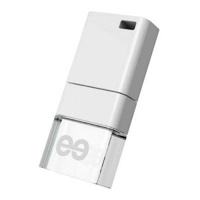 Флешка Leef 32GB ICE белый/прозрачный LFICE-032WHR