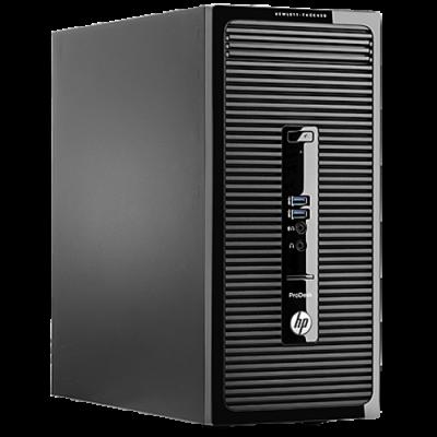 """Комплект HP ProDesk 400 G2 MT + Монитор HP V201a 19.45"""" K8K73EA"""
