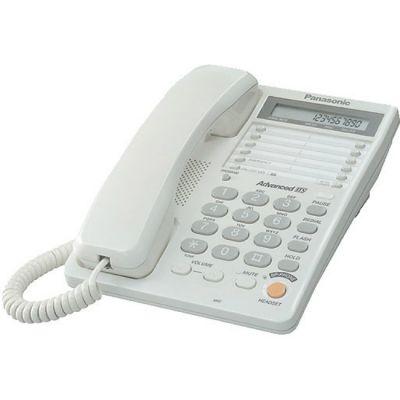 Телефон Panasonic проводной KX-TS2365RUW White